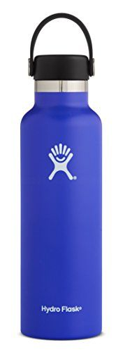 Hydro Flask 18 oz Double Wall Vacuum Insulated Stainless Steel Leak Proof Sports Water Bottle, Standard Mouth with BPA Free Flex Cap, Blueberry. For product & price info go to:  https://all4hiking.com/products/hydro-flask-18-oz-double-wall-vacuum-insulated-stainless-steel-leak-proof-sports-water-bottle-standard-mouth-with-bpa-free-flex-cap-blueberry/