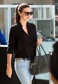 beauty girl fashion perfect style bag amazing victoria's secret sunglasses vs Miranda Kerr angel