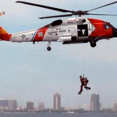 Let's hear it for the US Coast Guard! Sometimes they don't get the recognition they deserve!