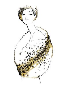 Le Glamour Print, Limited Edition of 75
