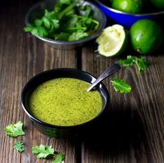 Lime Cilantro Dressing   #vegan #cleaneating #glutenfree   an awesome choice for summer salads