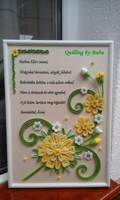 Quilling Work, Quilling Paper Craft, Quilling Flowers, Paper Flowers, Paper Crafts, Paper Quilling Cards, Paper Quilling Designs, Quilling Patterns, Quilling Photo Frames