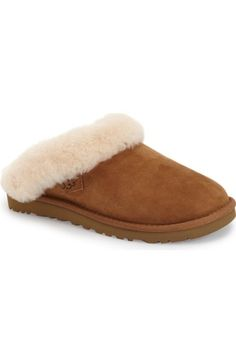 sale retailer 3ff37 2d4b0 UGG® Cluggette Genuine Shearling IndoorOutdoor Slipper (Women)   Nordstrom