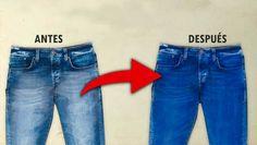 Mis jeans favoritos perdieron el color, entonces les eche esto y recuperaron su color originalExisten decenas de trucos y secretos para mejorar tu ropa y zapatos que te harán lucir, a ti y a tu familia, fantásticos. Esta es genial le devolverá la vida a tus jeans viejos.