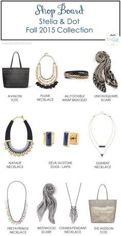 Fashion Accessories | Stella & Dot Fall 2015 Collection - KnotsVilla