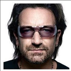 BONO. - Oooozes class and talent.