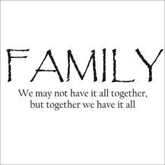 Family Quote Large Vinyl Decal Wall Decal by CustomVinylbyBridge, $32.00