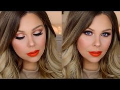 Today's video is my first Too Faced Sweet Peach Palette Makeup Tutorial! This was the first time I used the Sweet Peach palette and I just had a play around . Peach Palette Looks, Peach Pallete, Beauty Makeup, Eye Makeup, Hair Makeup, Hair Beauty, Too Faced Peach, Makeup Step By Step, Beauty Hacks