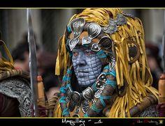 Cuadros de Moros y Cristianos festivales en España