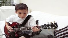 11-Year-Old Boy Plays 'Highway To Hell' On His Guitar And Manages To Sound Exactly Like Angus Young