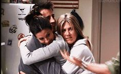 """You're the glue that holds everyone together.   22 Signs You're The Monica Geller Of Your Friend Group """"You can't go, I mean you're the glue that holds this group together!"""""""