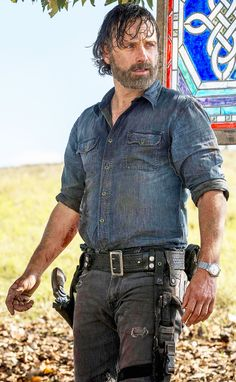 Rick grimes The Walking Dead 2, Walking Dead Season, Rick And Carl, Dead King, Andy Lincoln, Friday Humor, Funny Friday, Grumpy Cat Humor, Thanks For The Memories