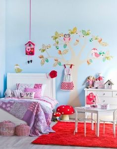 Oh Go #cuckoo For Toadstool And #red #aqua Room Theme