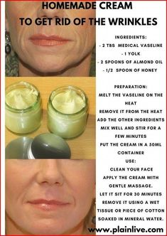rid of the wrinkles in just seven days! Make a homemade cream that is going to make you younger ! Homemade Cream To Get Rid of the Wrinkles Anti Aging Tips, Anti Aging Skin Care, Natural Skin Care, Natural Beauty, Creme Anti Age, Anti Aging Cream, Prévenir Les Rides, Belleza Diy, Skin Care Routine For 20s