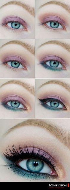 No tengas miedo de aplicar color a tu mirada, te aseguro que los resultados te encantarán. #eyes #makeup #tips #DIY #style