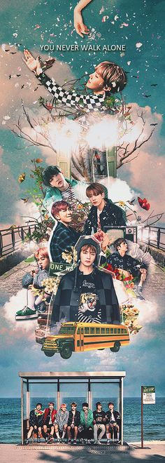 170207 / BTS x YOU NEVER WALK ALONE by ChanHyukRu on DeviantArt