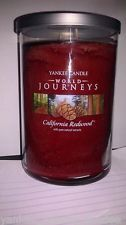 California Redwood (22oz large tumbler) Yankee Candle World Journeys Collection