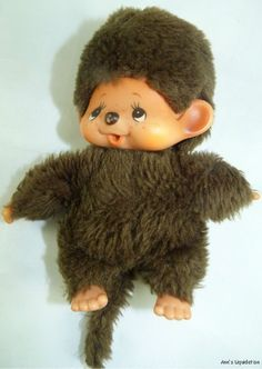 Monchhichi - wow i had forgot about these. They were all I wanted for xmas when I was 7 years old.