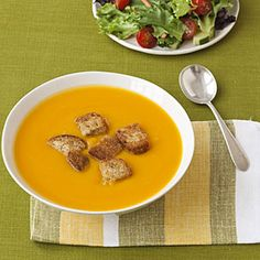 What's on sale in February: Butternut Squash   Squash Soup with Whole-Grain Croutons   AllYou.com