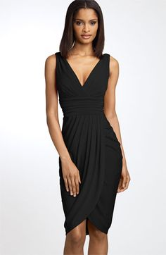 Maggy London Sarong Dress available at #Nordstrom