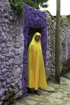 Street in Harar. Ethiopia by courregesg, via Flickr