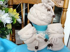 ............................. PATTERN .............................. .................... INSTANT DOWNLOAD ................... This is a Knitting PATTERN Baby Set ( PDF file ). Price is ONLY for the PATTERN and NOT for the finished item !