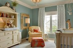 Courtesy of Houzz. Love the wall color.