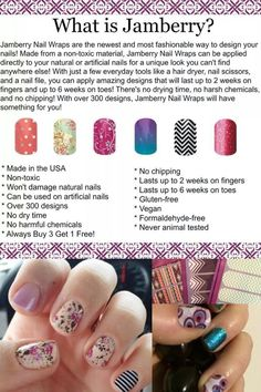 What is Jamberry?   http://slavicav.jamberrynails.net