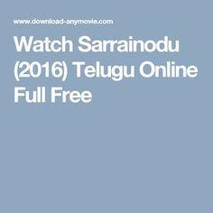 sarrainodu 2016 telugu full movie download hd mp4 3gp