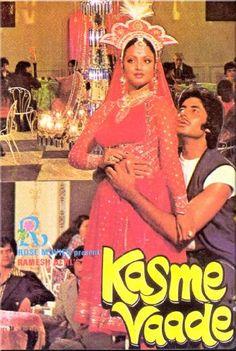 Kasme Vaade R D Burman, Neetu Singh, Randhir Kapoor, Bollywood Posters, Be With You Movie, Amitabh Bachchan, Indian Movies, Film Posters, Movie Stars