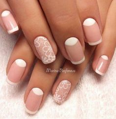Great idea for french manicure