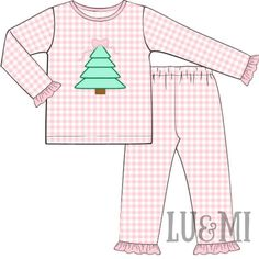 Merry Christmas Baby, Pink Christmas, Bow Tops, Pink Gingham, Smocking, Bows, Comfy, Knitting, Ships