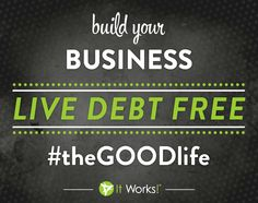 Want to build a business and live debt-FREE from home? See how you can here www.facebook.com/NewLifeBodyWraps    #theGOODLife #NewLifeBodyWraps
