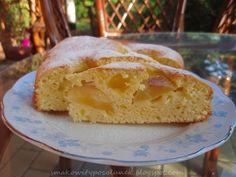 Błyskawiczne ciasto w 5 minut z gruszką