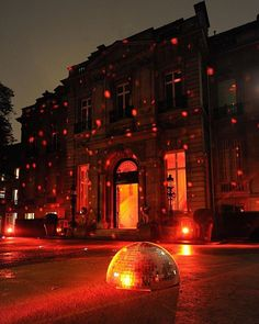 The entrance of the Hôtel Salomon de Rothschild in #Paris lit by a #VeryValentino RED lights as the perfect setting to put everyone in a disco mood! via VALENTINO OFFICIAL INSTAGRAM - Celebrity  Fashion  Haute Couture  Advertising  Culture  Beauty  Editorial Photography  Magazine Covers  Supermodels  Runway Models