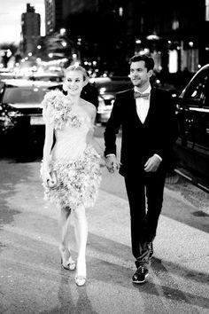 Diana Kruger & Joshua Jackson.