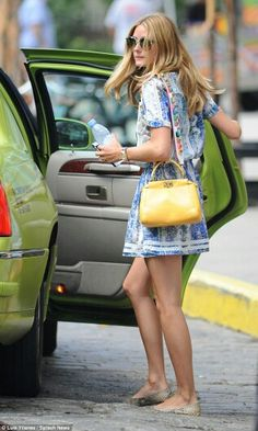 Olivia palermo summer dress