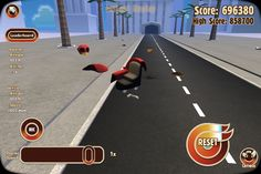 So I'm playing turbo dismount and I can't find my body haha