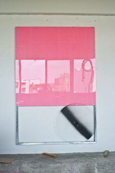Neon Signs, Pink, Pintura, Art, Exhibitions, Roses