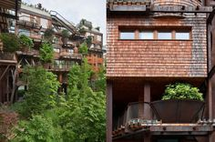 25 Verde: Luciano Pia's incredible urban treehouse protects against air and noise pollution in Turin | Inhabitat - Green Design, Innovation, Architecture, Green Building