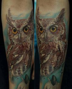 130 Brilliant Owl Tattoos Designs And Their Meanings nice Check more at http://fabulousdesign.net/owl-tattoos-meanings/
