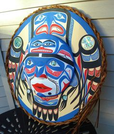 In 1990 Patrick Amos and Tim Paul carved a 36' Hesquiaht totem pole for the Mauri people of New Zealand. Patrick had his first solo exhibition in 1991 at the Gallery Indigena in Stratford, Ontario. ; and the Gallery of Tribal Arts in Vancouver,BC. | eBay!