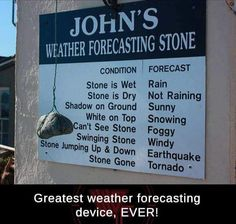 Weather forecasting stone.. http://ift.tt/2zhSKsh