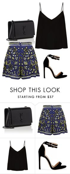 """Sem título #454"" by belinhabela on Polyvore featuring moda, Yves Saint Laurent, Miss Selfridge e Raey"