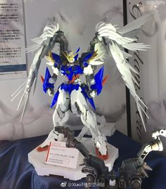 Hi-Resolution Model 1/100 Wing Gundam Zero Custom EW Ver. Exhibited at 56th Shizuoka Hobby Show - Gundam Kits Collection News and Reviews