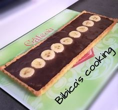 Tarte chocolat-banane haut