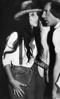 Cher and Steve Rubell 1979 inside Studio 54