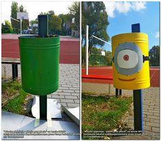 Trochę farby, wyobraźni i szkolne podwórko zmieniło się nie do poznania!