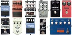 Roundup of the Top 10 Compressor Pedals