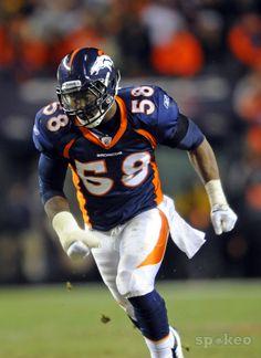 Von Miller, Denver Broncos My favorite football player.. You go buddy!